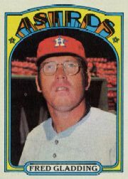 1972 Topps Baseball Cards      507     Fred Gladding